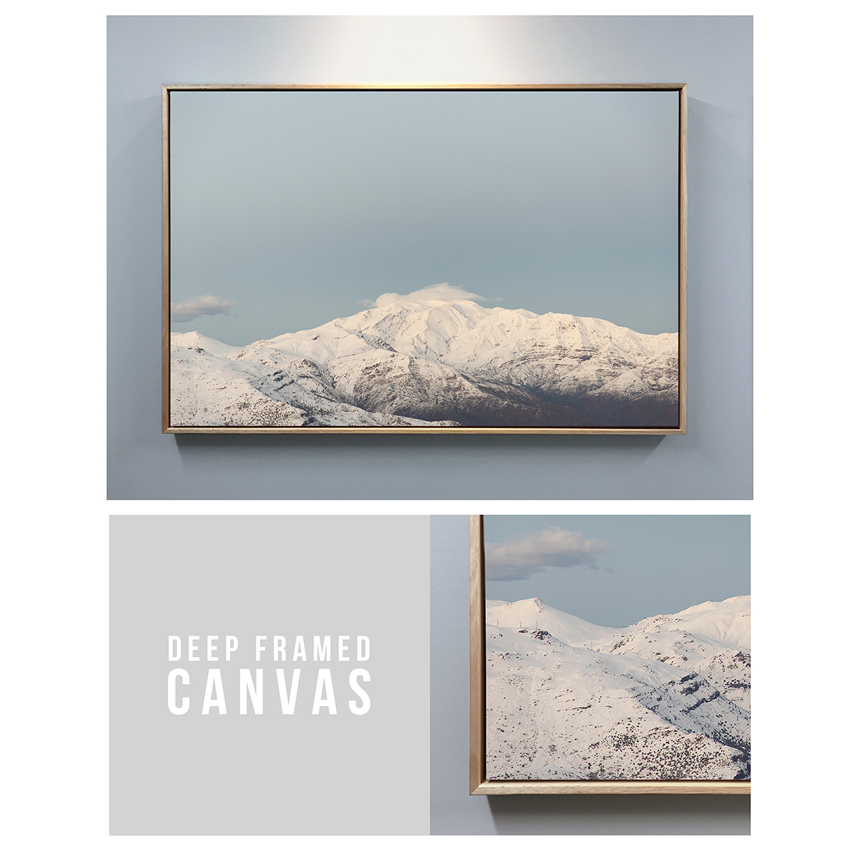 Buy online deep framed canvas prints from prism imaging for Where to buy framed art